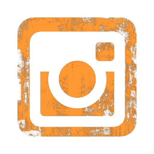Instagram Logo Homepage orange